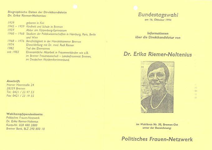 Vermischtes aus den Jahren 1993 und 1994