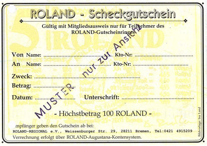Verschiedenes zum Roland-Regional Wirtschaftsring V : [Frauenzentrum Affidamento]