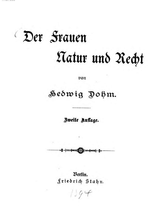 Der Frauen Natur und Recht / Seite 8
