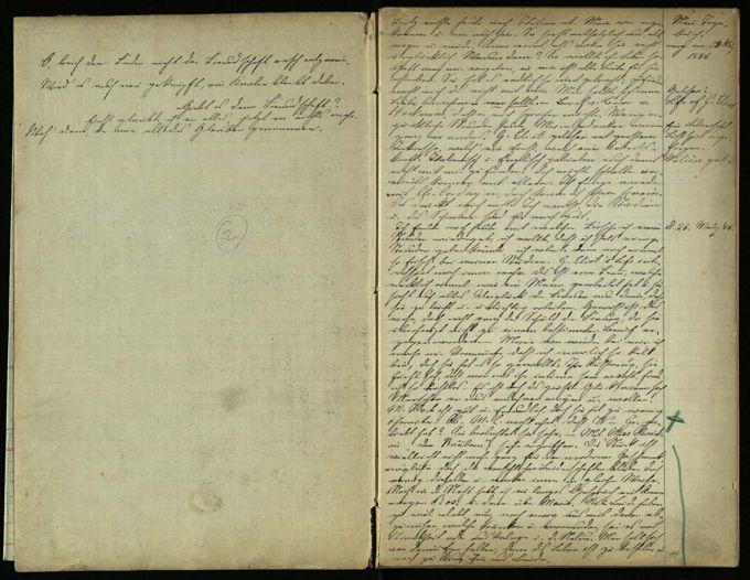 Tagebuch 1886-1896 / Seite 2