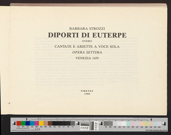 Diporti di Euterpe Op. 7