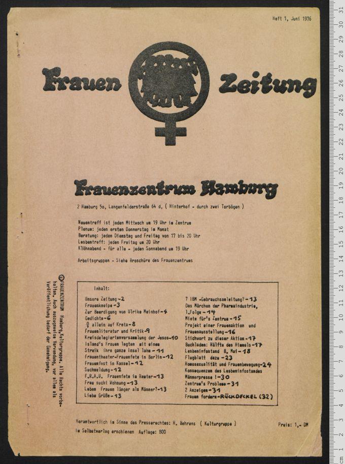 Frauenzeitung 1(1976)1