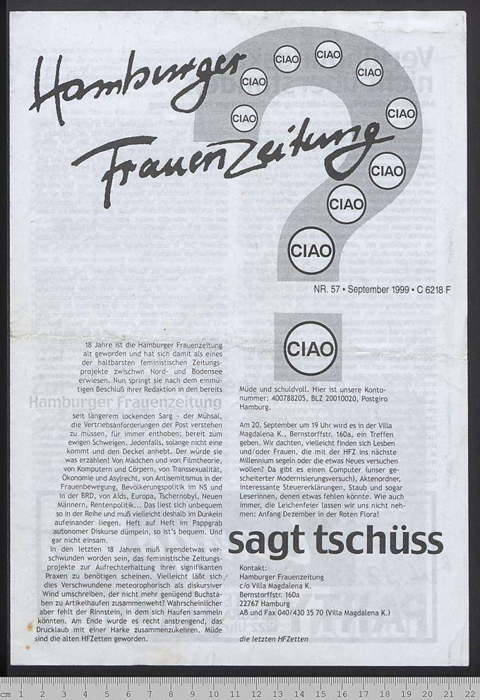 Hamburger Frauenzeitung