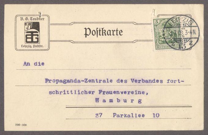 Rechnungen und Belege der Propaganda-Zentrale / Seite 9