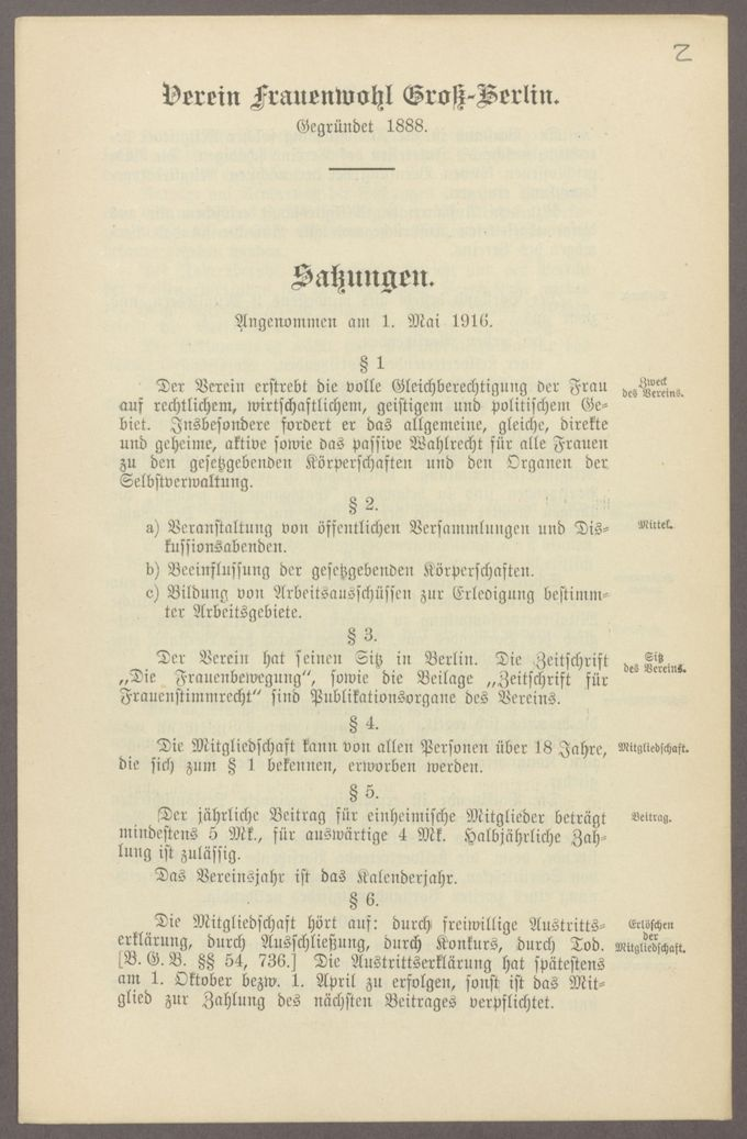 Satzungen / Seite 16
