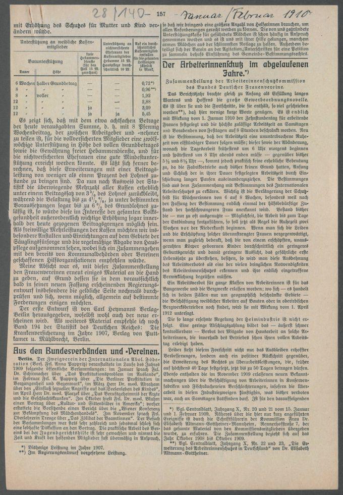 Korrespondenzen, Anschreiben und Sitzungsprotokolle der Kommissionen / Seite 359