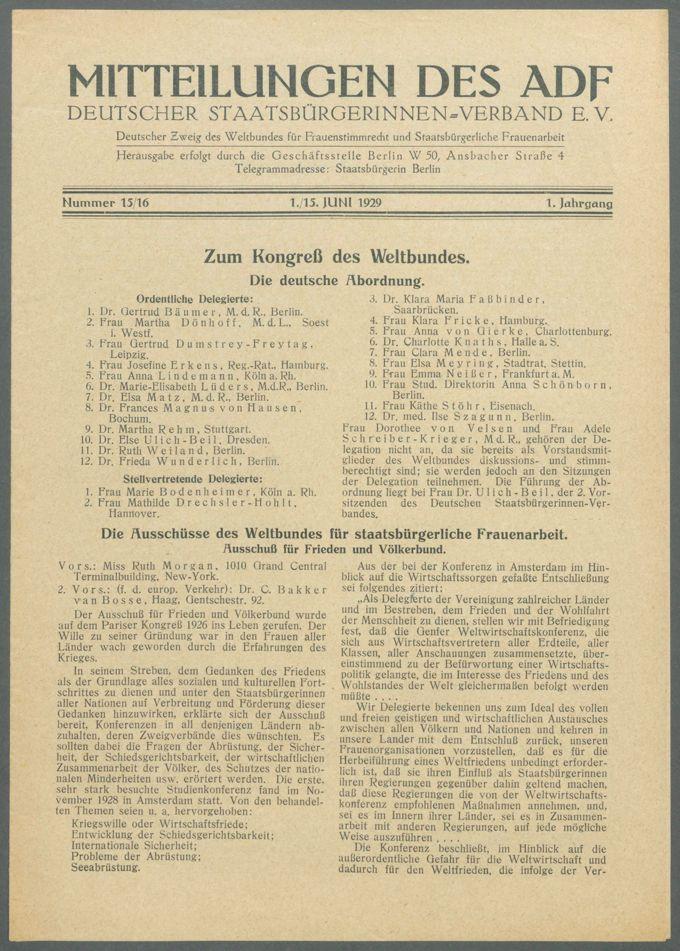 Mitteilungen des ADF / Deutscher Staatsbürgerinnen-Verband e.V.                  / Seite 60