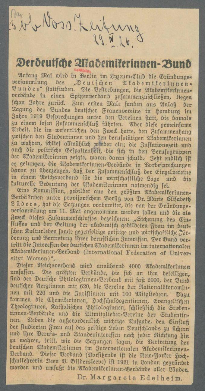 Verbände und Vereine A / Seite 17