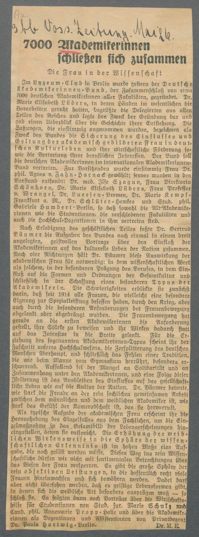 Verbände und Vereine A / Seite 18