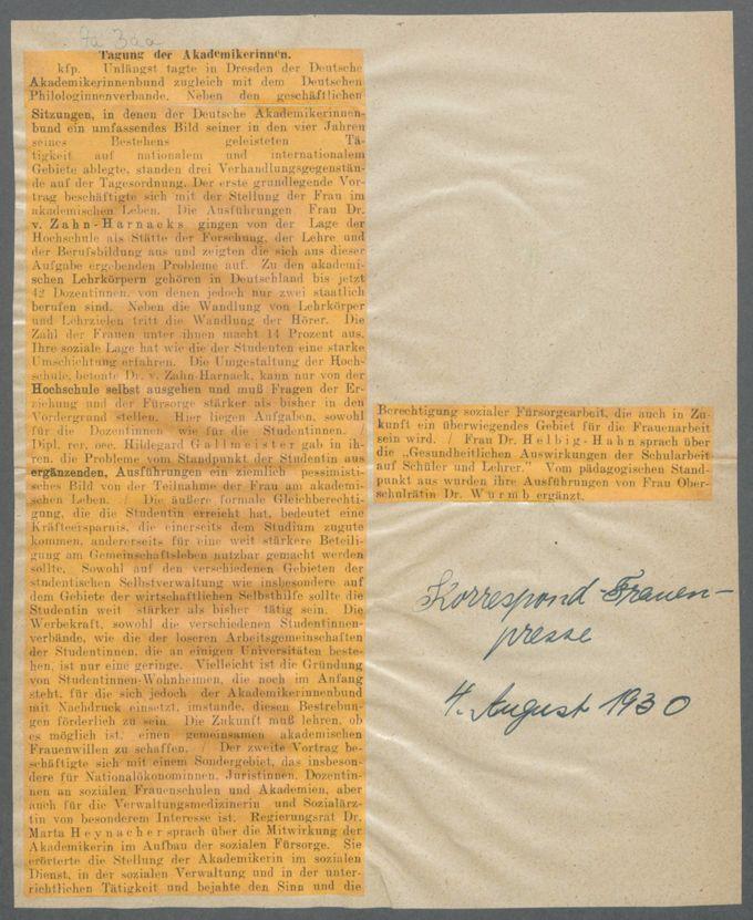Verbände und Vereine D / Seite 4