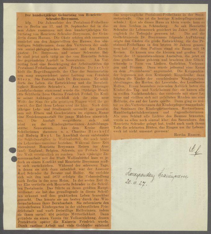 Lebensbilder Sch / Seite 17