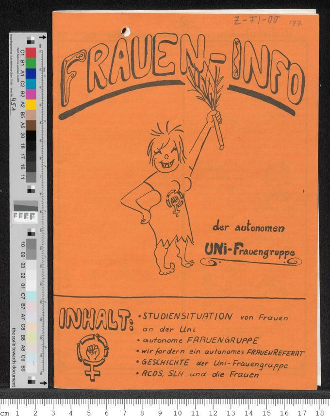 Frauen-Info der autonomen UNI-Frauengruppe Bochum / Seite 1