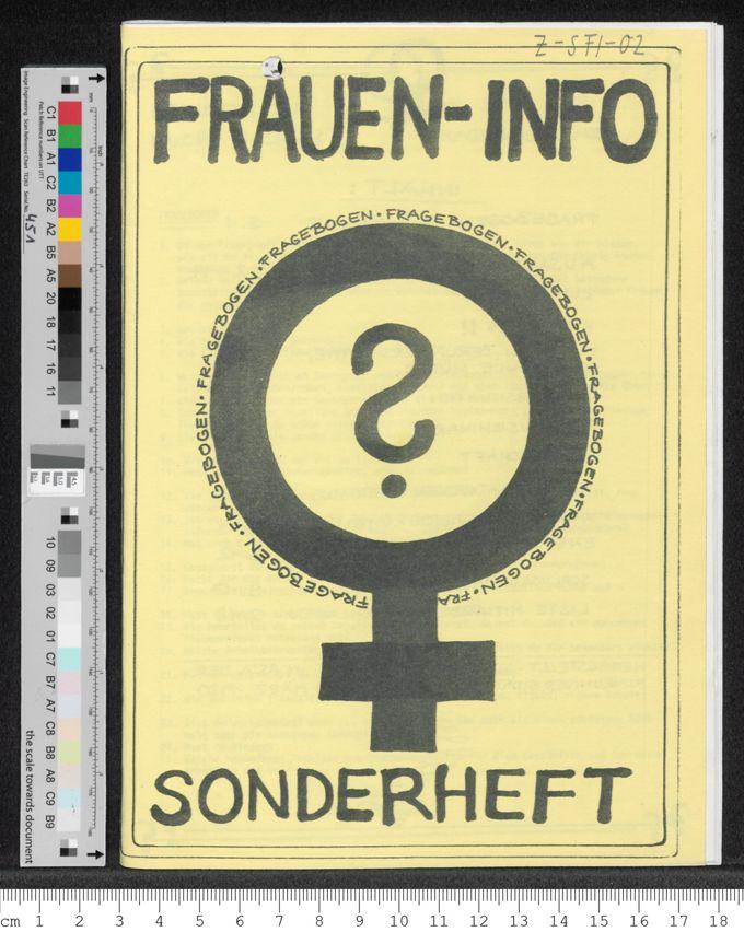 Frauen-Info: Fragebogen Sonderheft